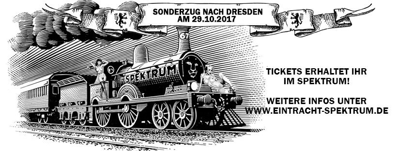 Letzte Infos Sonderzug Dresden